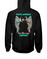 Postal Workers earn their wings everyday Hooded Sweatshirt thumbnail
