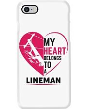 My Heart belongs to a Lineman Phone Case i-phone-8-case