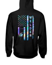 Welder US Flag Hooded Sweatshirt thumbnail
