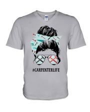Carpenter Life V-Neck T-Shirt thumbnail
