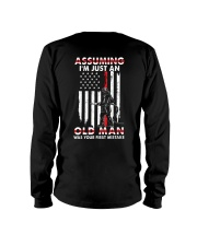 Awesome Firefighter Long Sleeve Tee thumbnail