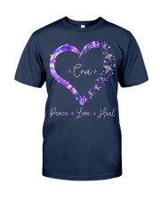 Peace Love Cna Classic T-Shirt front