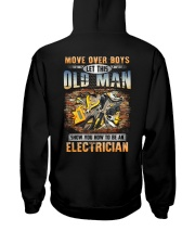 Let this Oldman show you How to be an Electrician Hooded Sweatshirt thumbnail