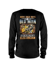 Let this Oldman show you How to be an Electrician Long Sleeve Tee thumbnail