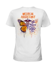 Medical Assistant She believed she could Ladies T-Shirt tile