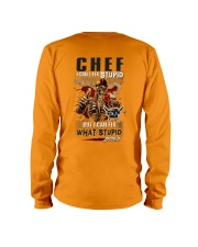 Chef: I can fix what stupid does Long Sleeve Tee thumbnail