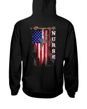 Proud American Nurse Hooded Sweatshirt thumbnail