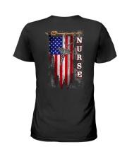 Proud American Nurse Ladies T-Shirt thumbnail