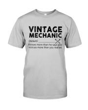 Vintage Mechanic Classic T-Shirt front