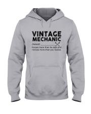 Vintage Mechanic Hooded Sweatshirt thumbnail