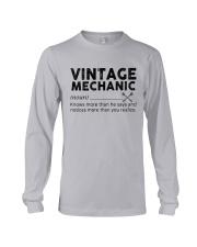 Vintage Mechanic Long Sleeve Tee thumbnail