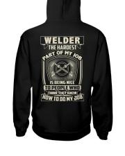 Welder: Hardest part of my job Hooded Sweatshirt thumbnail