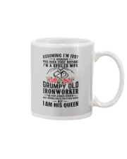 Ironworker's Wife: I am his Queen Mug thumbnail
