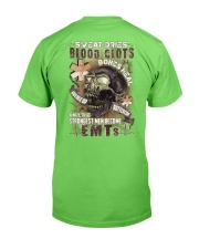 Strongest men become EMTs Classic T-Shirt back