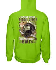 Strongest men become EMTs Hooded Sweatshirt thumbnail