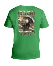 Strongest men become EMTs V-Neck T-Shirt thumbnail
