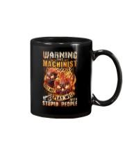 Machinist: Warning for Stupid People Mug thumbnail