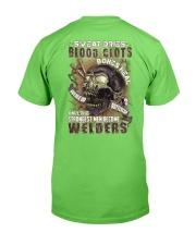 Strongest men become Welders Classic T-Shirt back