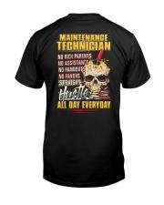 Maintenance Technician Classic T-Shirt back