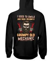 I used to smile then I became a mechanic Hooded Sweatshirt tile