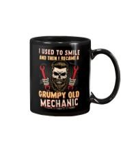 I used to smile then I became a mechanic Mug tile