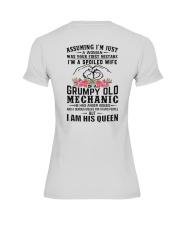 Mechanic's Wife: I am his Queen Premium Fit Ladies Tee thumbnail
