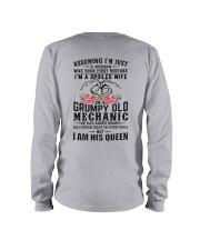 Mechanic's Wife: I am his Queen Long Sleeve Tee thumbnail