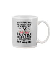Mechanic's Wife: I am his Queen Mug thumbnail