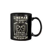 Lineman: Hardest part of my job Mug thumbnail