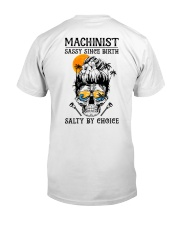 Machinist Salty by Choice Classic T-Shirt thumbnail