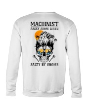 Machinist Salty by Choice Crewneck Sweatshirt thumbnail