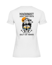 Machinist Salty by Choice Premium Fit Ladies Tee thumbnail