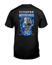 Awesome Elevator Mechanic Classic T-Shirt back