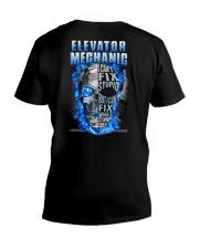 Awesome Elevator Mechanic V-Neck T-Shirt thumbnail