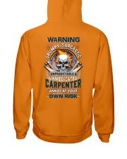 Sarcastic Carpenter Hooded Sweatshirt thumbnail