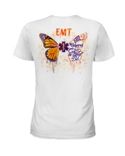 EMT She believed she could Ladies T-Shirt thumbnail