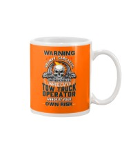 Tow Truck Operator: Annoy at your own risk  Mug thumbnail