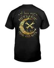 I Love My Mechanic to The Moon And Back Classic T-Shirt thumbnail