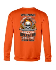 Operator: Annoy at your own risk  Crewneck Sweatshirt thumbnail