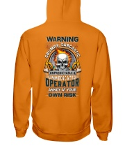 Operator: Annoy at your own risk  Hooded Sweatshirt thumbnail