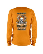Operator: Annoy at your own risk  Long Sleeve Tee thumbnail