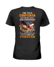 The Title Corpsman Own it Forever Ladies T-Shirt thumbnail