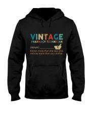 Vintage Pharmacy Technician Hooded Sweatshirt thumbnail
