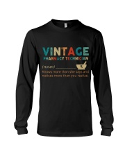 Vintage Pharmacy Technician Long Sleeve Tee thumbnail