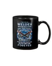 I own the title Welder forever Mug tile