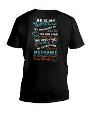 My mechanic is my everything V-Neck T-Shirt thumbnail