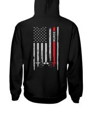 Proud American Nurse Hooded Sweatshirt tile