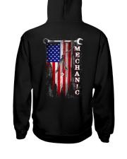 Proud American Mechanic flag Hooded Sweatshirt thumbnail