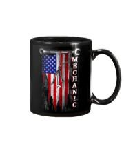 Proud American Mechanic flag Mug thumbnail