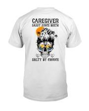 Caregiver Salty by Choice Classic T-Shirt thumbnail